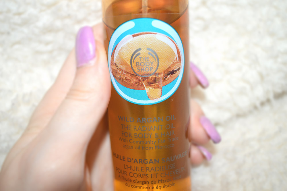 body shop argan oil review