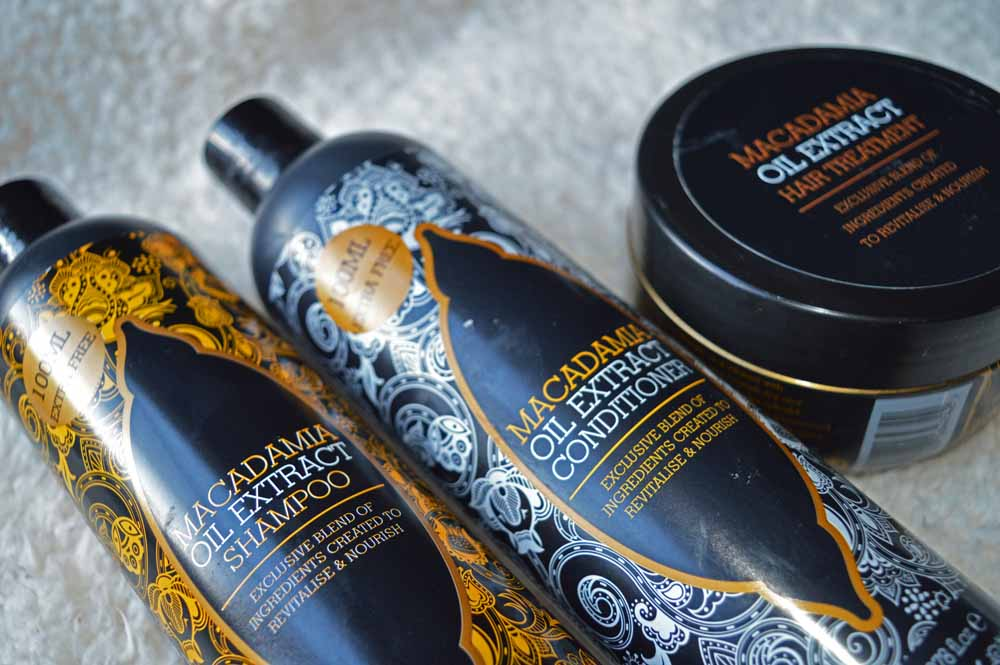 Macadamia Oil Extract Hair Range
