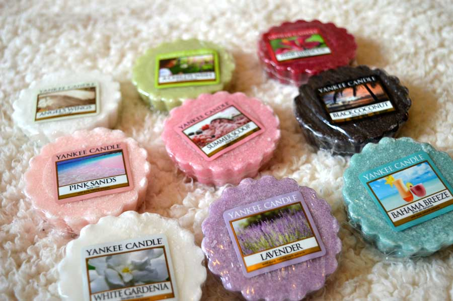 yankee candle tart melts
