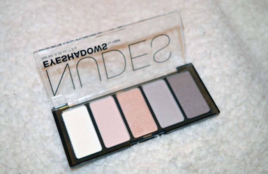 H&M nude palette review