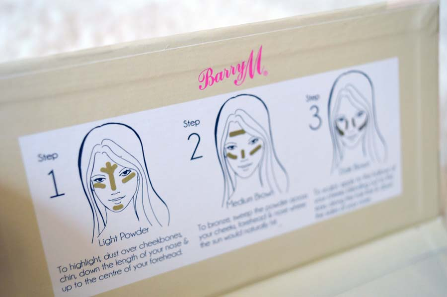 barry m contour kit instructions