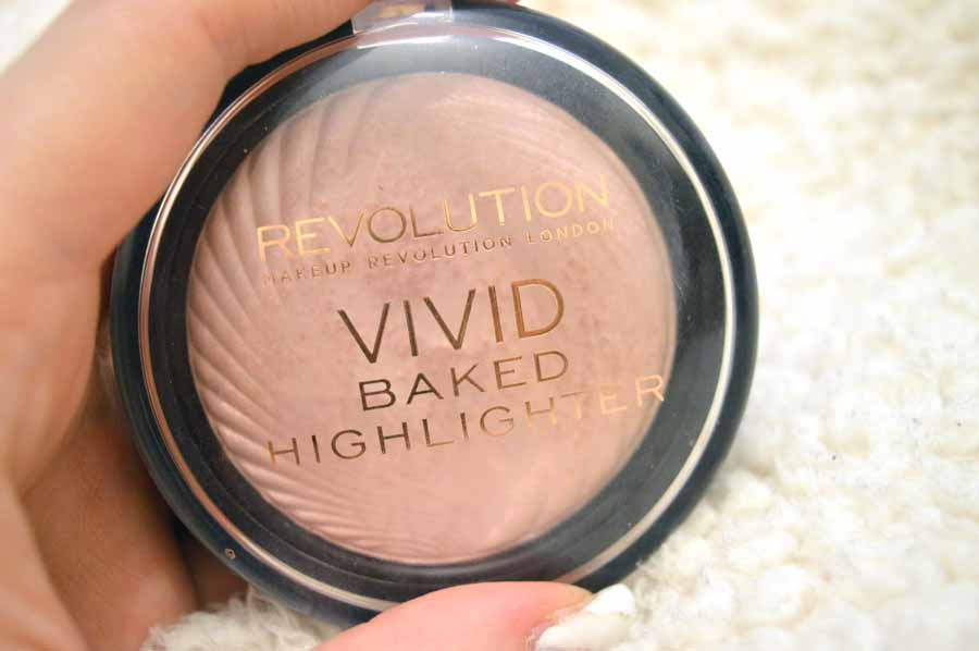 makeup revolution peach lights highlighter review