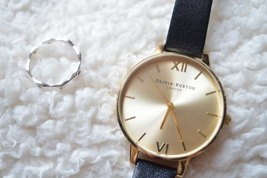 olivia burton watch and virtue ring
