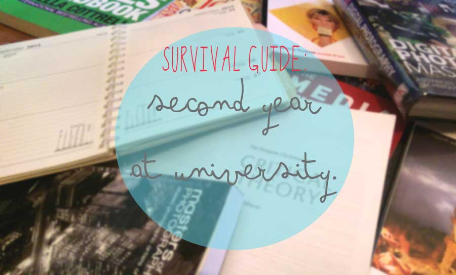 survival guide second year at Uni