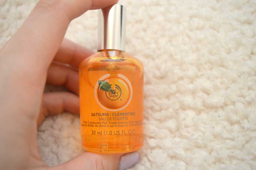 body shop satsuma perfume review