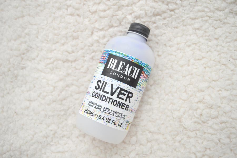 bleach london silver conditioner review