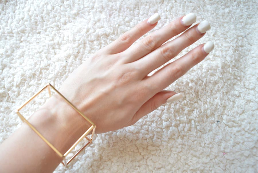 statement gold bracelet dollyboo