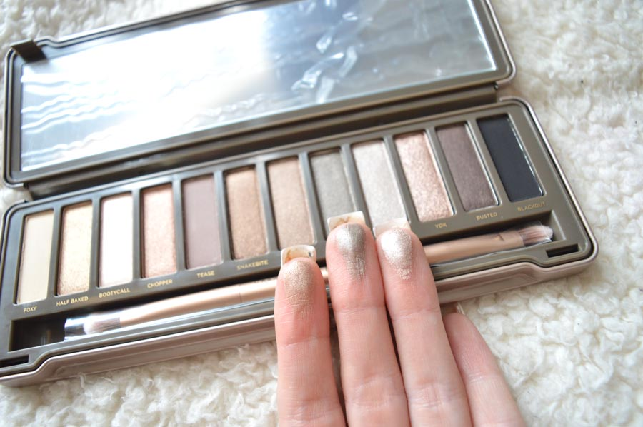 naked 2 palette swatch