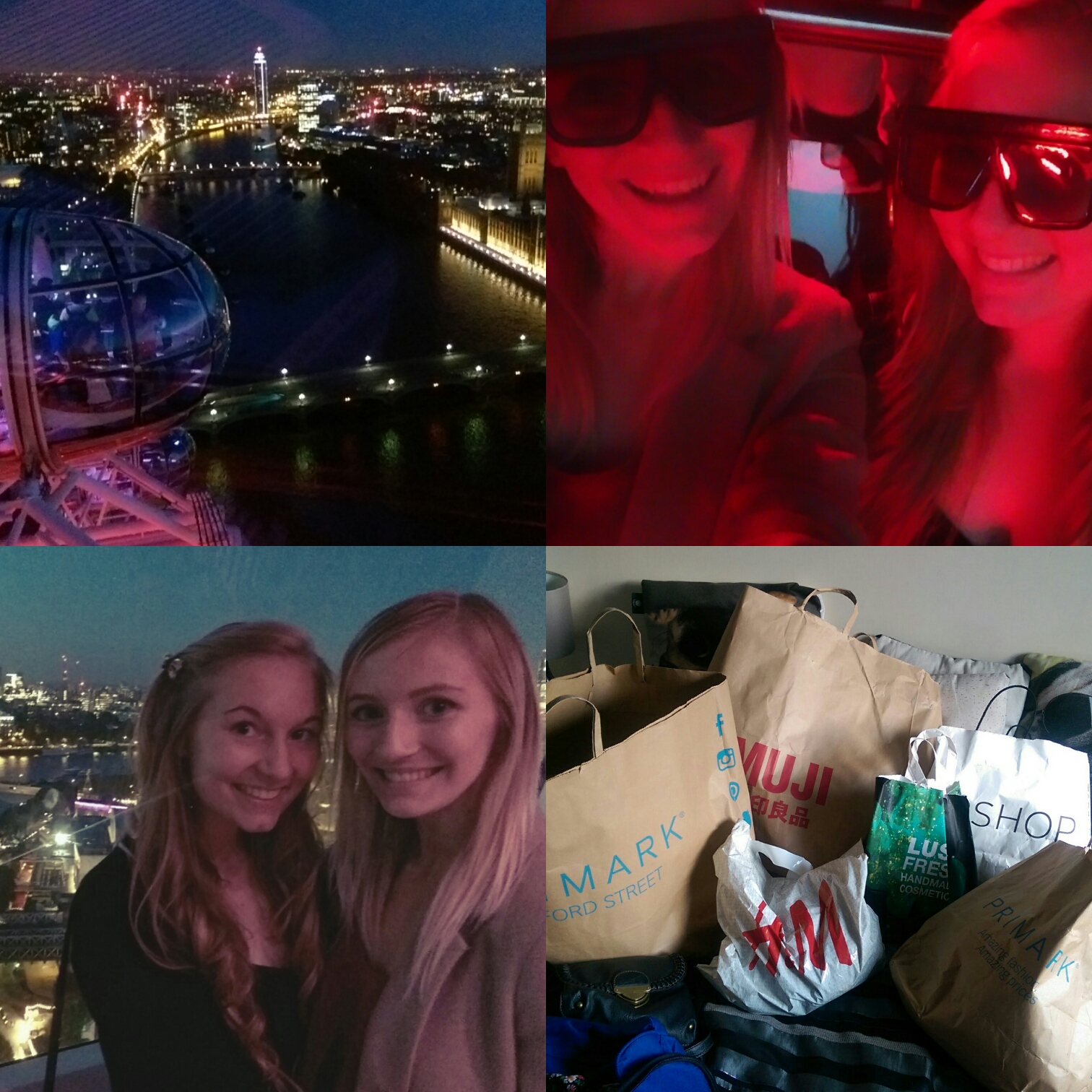 london adventure - london eye, oxfort street and cinema