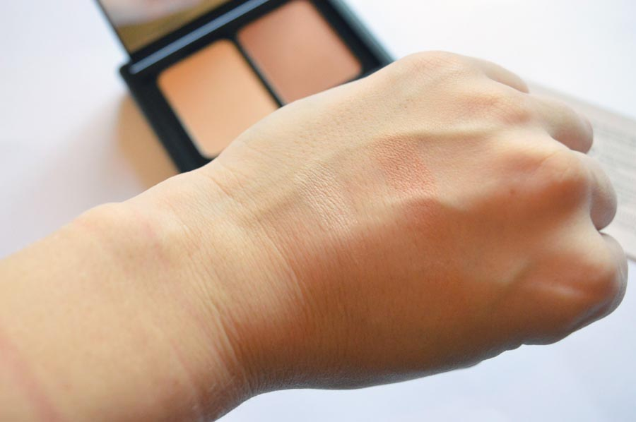 cool contour kit swatches