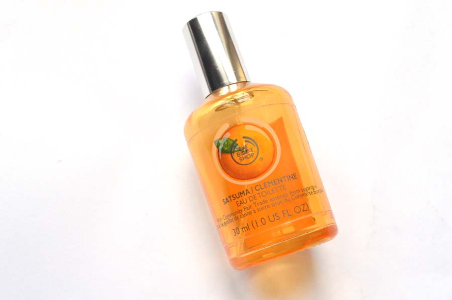 body shop satsuma perfume