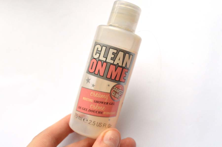 soap and glory clean on me review