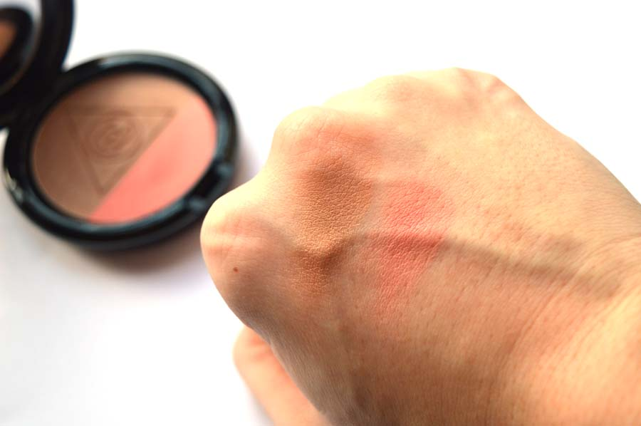 mac ellie goulding blush swatches