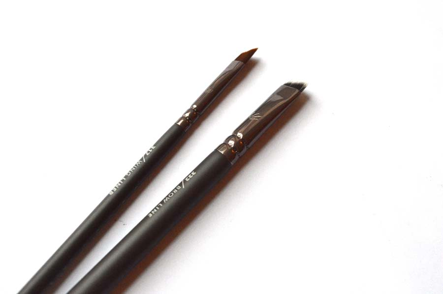 zoeva wing liner zoeva brow brush