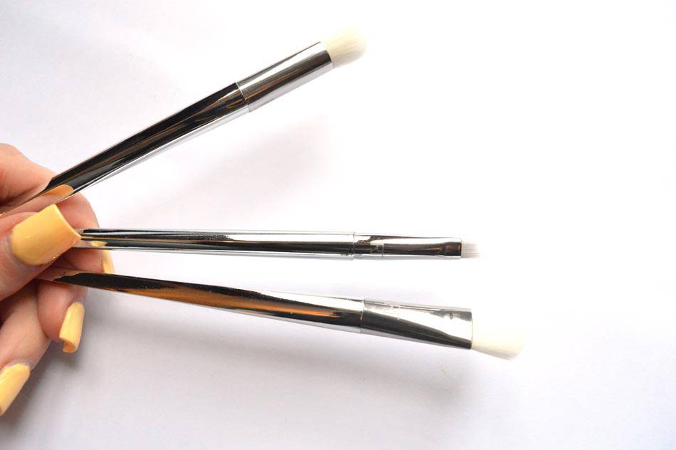 real techniques bold metals eye brushes