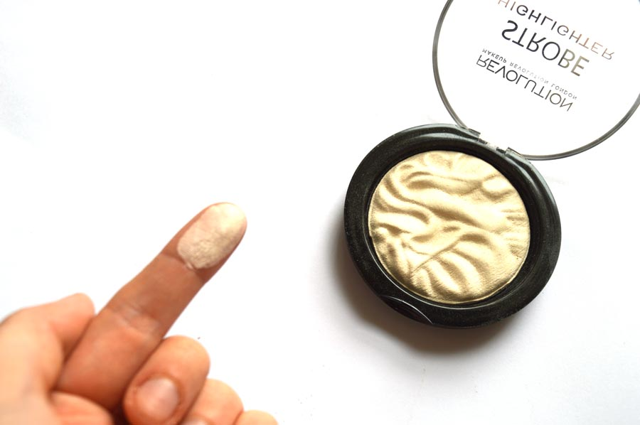 makeup revolution strobe highlighter review