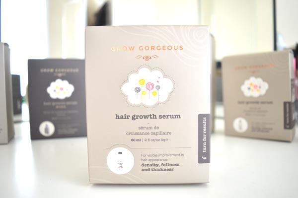 Grow gorgeous hair growth serum review