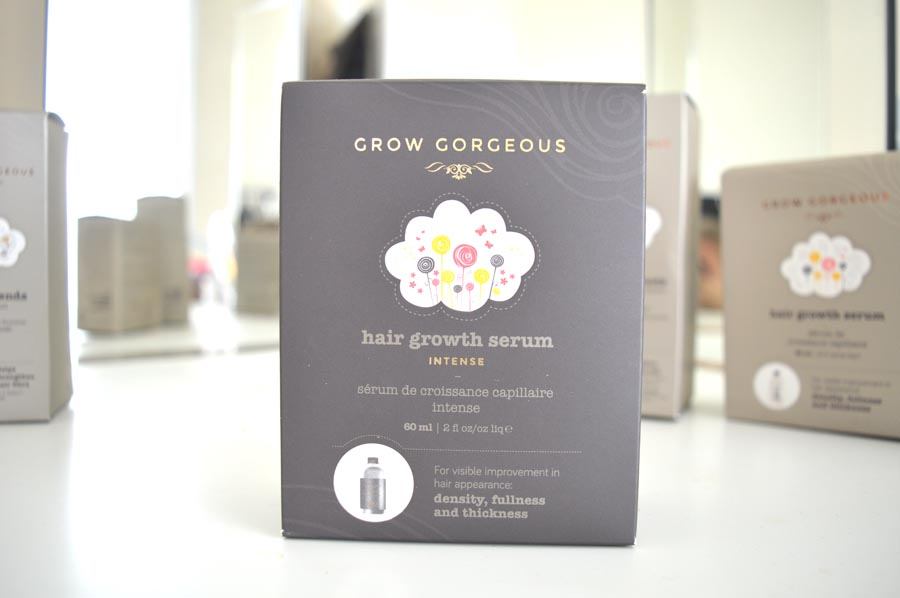 Grow gorgeous hair growth serum intense review