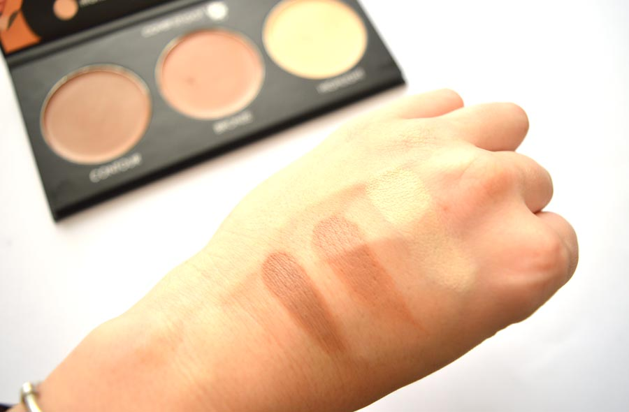 covershoot cosmetics contour palette swatches