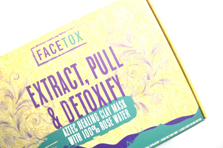 Facetox organic face mask review