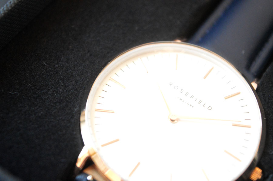 Rosefield Ams NYC Bowery Watch Review