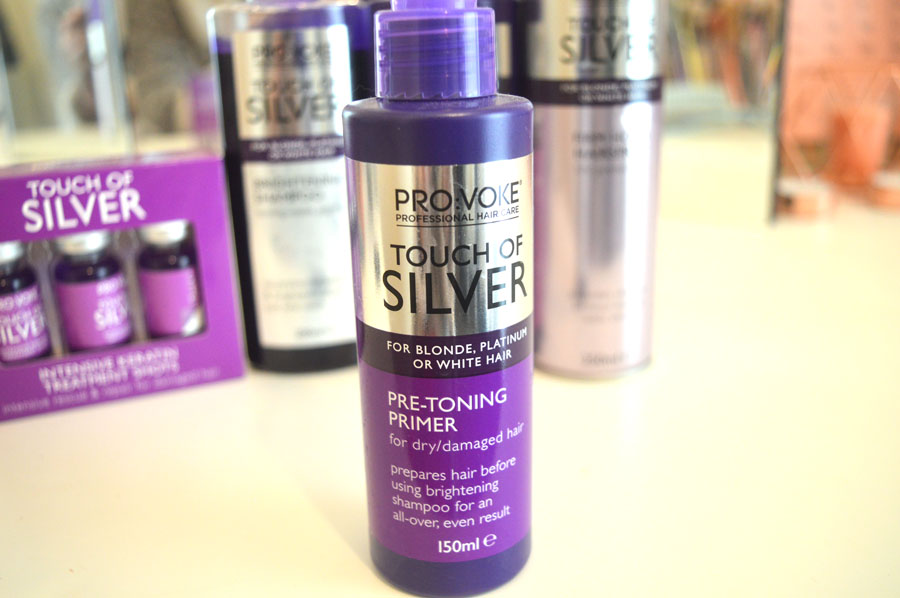 Provoke Touch of Silver pre-toning primer