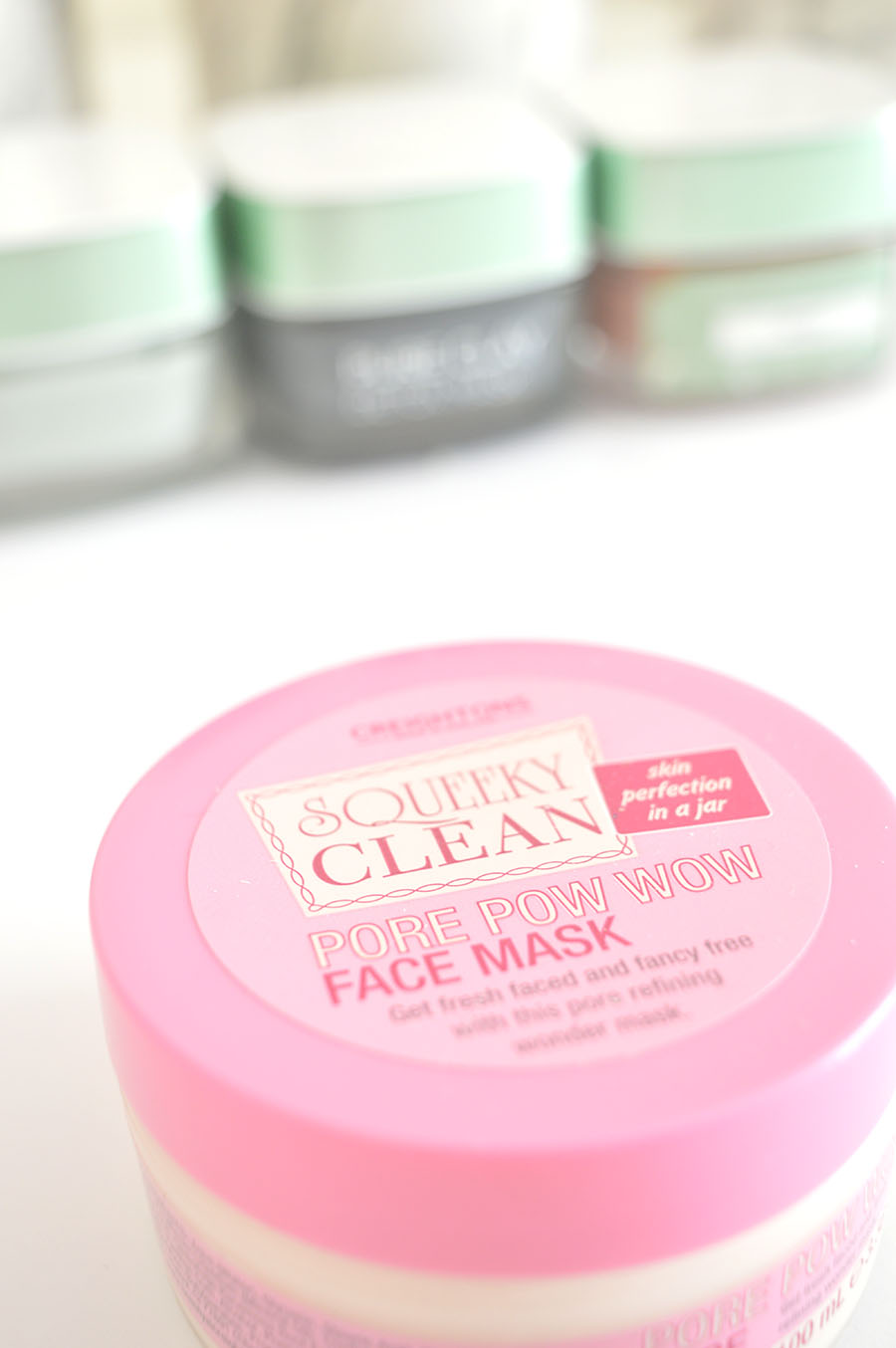 Pore face mask