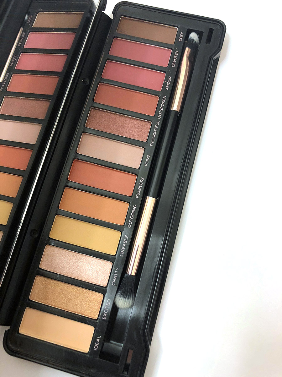 Profusion Cosmetics eyeshadow palette